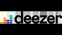 Ici se trouve le logo de deezer