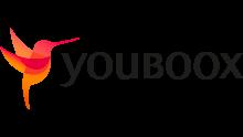ici se trouve le logo de Youboox