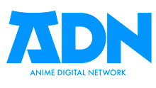 Logo de Anime Digital Network en bleu