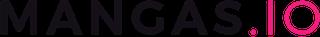 Logo en noir et rose de mangas.io