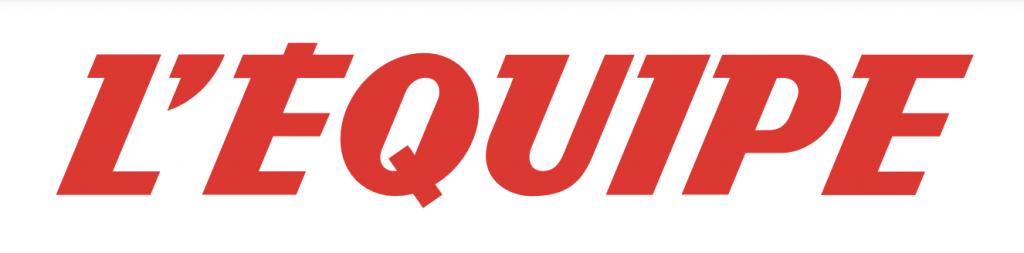 Logo rouge de L'Equipe